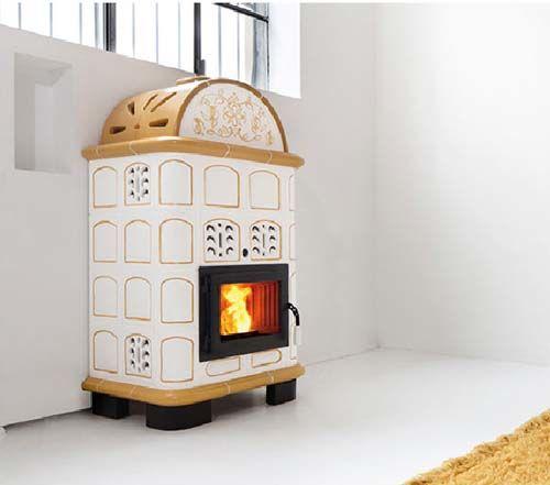 Stufa a legna stuba con forno royal palazzetti euroshunt for Stufa pellet usata 300 euro
